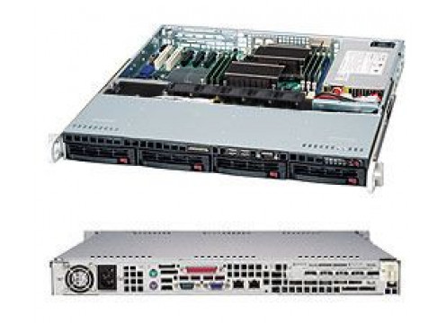 Supermicro Single CPU Advanced 1U Redundant Server
