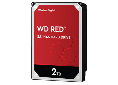 WD HDD 2.0TB 256MB SATA3 Red NAS 24/7 3.5