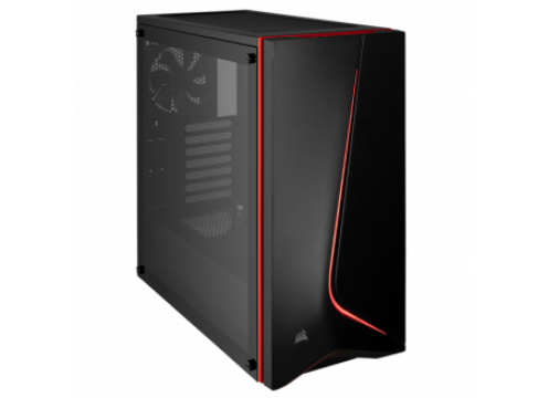 Corsair Carbide SPEC-06 Tempered Glass Mid-Tower Gaming Case Black