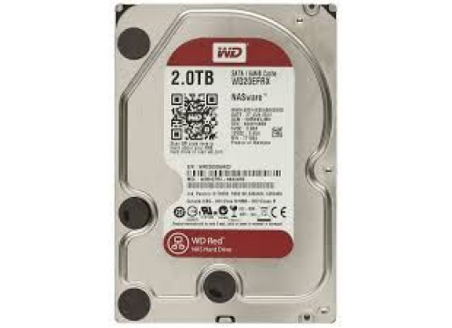 WD HDD 2.0TB 64MB SATA3 Red NAS 24/7 3.5