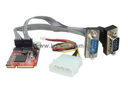 IPPON Mini PCI-E To RS232 x2 Adapter