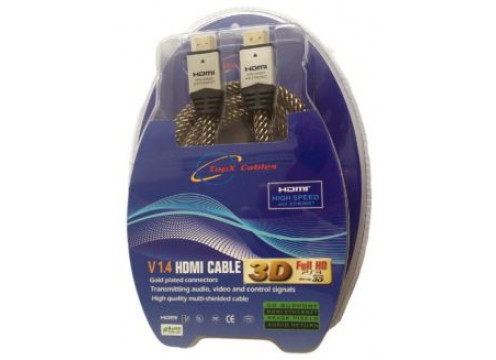 HDMI 1.4 Male to Male 2M TopX Cable