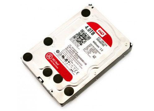 WD 4T SATA3 Red NAS 24/7 3.5""