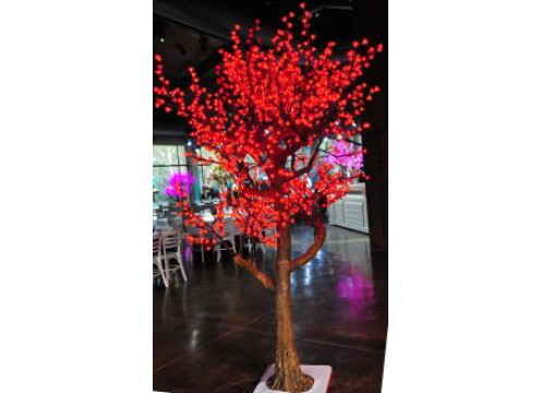 Tree Cherry Blossom 2.5M Red