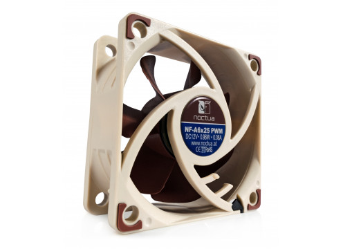 Noctua NF-A6X25 PWM 60MM Fan 3000 RPM