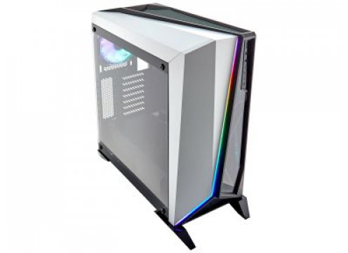 Corsair Carbide Series SPEC-OMEGA RGB Tempered Glass Mid-Tower White
