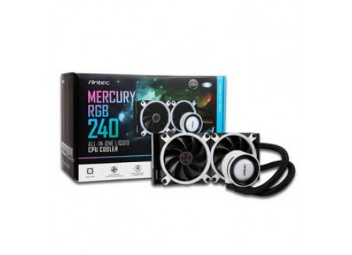 Antec Mercury 240 All-In-One CPU Liquid Cooler RGB