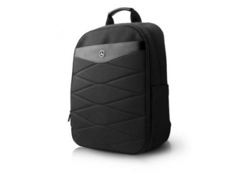 "MERCEDES Computer Backpack 15"" PATTERN III - Black"
