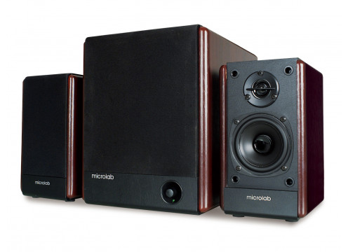 FC-330 2.1 Wooden Sub & Speakers 56W