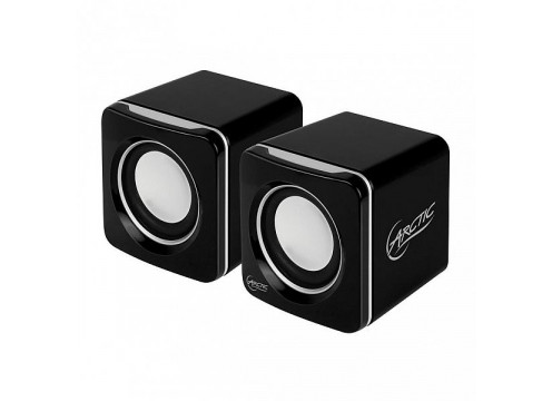 Arctic portable speakers S111M 4W (2X 2W RMS) with 2000mAH battery Black