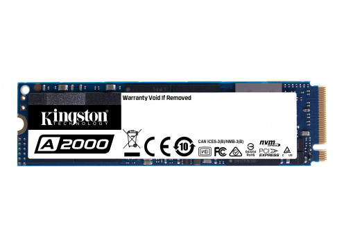 Kingston SSD 250GB A2000 M.2 NVMe PCIe SA2000M8/250G