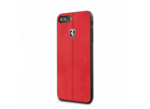 IPhone 7 FERRARI HERITAGE Booktype Case W Vertical Contrasted Stripe - Red
