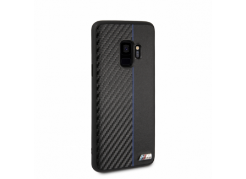 Galaxy S9+ BMW M TPU PC Case BI Matirial Carbon Stripe - Navy