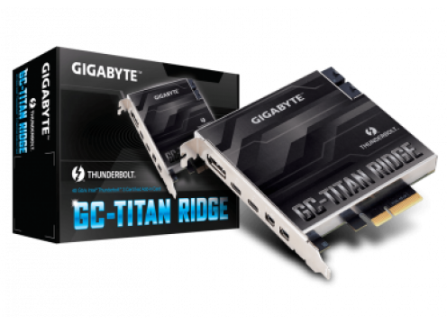Gigabyte GC-TITAN RIDGE Thunderbolt 3 PCI-Ex4 add on Card