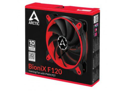 Arctic Bionix F120 Gaming Fan PWM PST Red