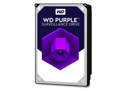 WD HDD 1.0TB 64MB SATA3 Purple Video 24/7 3.5