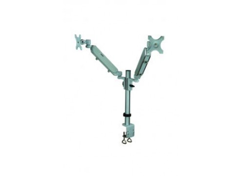 IPPON Dual Monitor Arm 2 Joints Pneumatic Height Adjustment 6kg