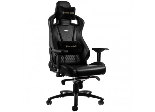 Noblechairs EPIC Real Leather Gaming Chair Black