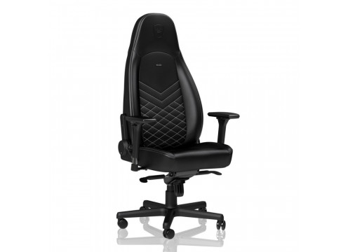 Noblechairs ICON Gaming Chair Black/Platinum White