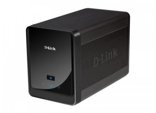 2-Bay NVR (Network Video Recorder) for D-Link IPCAMs