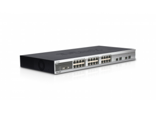 D-Link 24 Port Ethernet Switch 10/100 +2 Combo L2