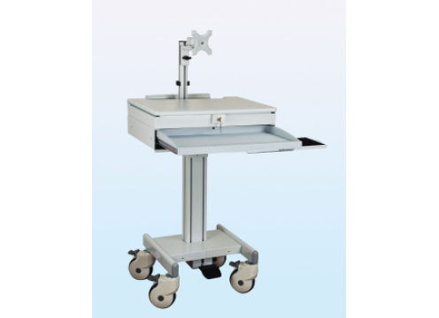 IPPON Computer Cart With Single Monitor Arm