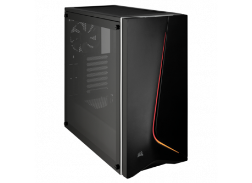 Corsair Carbide SPEC-06 Tempered Glass Mid-Tower Gaming Case Black RGB