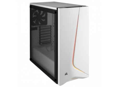 Corsair Carbide SPEC-06 Tempered Glass Mid-Tower Gaming Case White RGB
