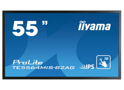 "IIYAMA Monitor 54.6"" Pro Large Format Display RCA BNC DVI HDMI DP"