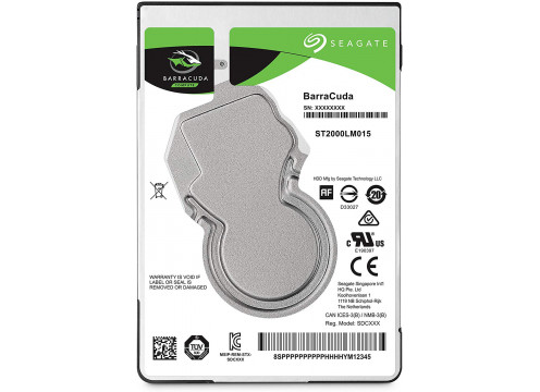 Seagate HDD 3.0TB 5400 128MB SATA3 2.5 BarraCuda