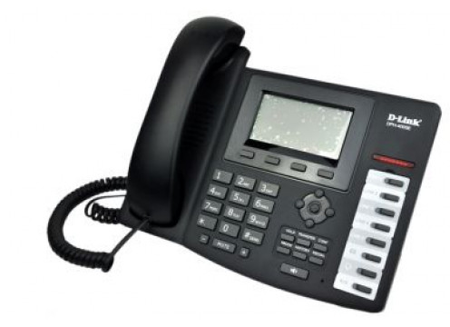 VOIP SIP Premium Phone, support 4 x accounts, PPPoE, DHCP, QOS, 128x64 LCD Display POE