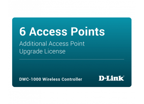 D-Link DWC-1000 Controller License for additional AP6