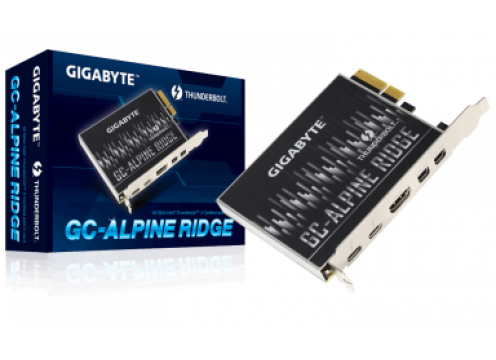Gigabyte GC-ALPINE RIDGE Thunderbolt 3 PCI-Ex4 add on Card