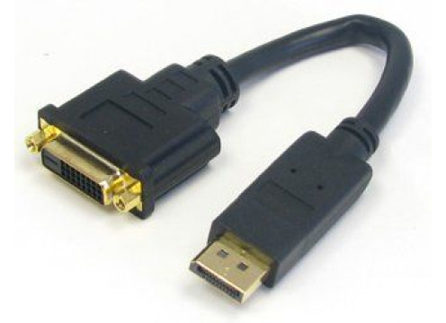 Cable DP Male to DVI-D Female 0.2M