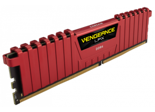 Corsair DDR 4 16G (8Gx2) 4000 CL19 Vengeance LPX Red CMK16GX4M2E4000C19R