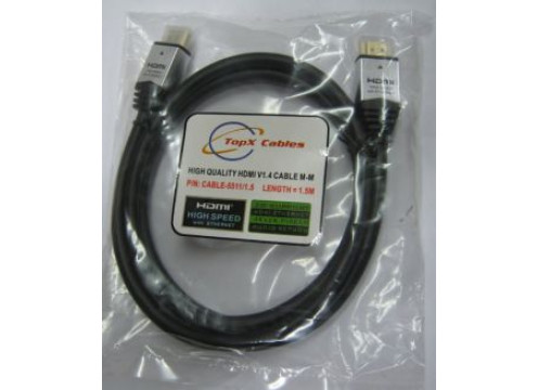 Cable HDMI 1.4 TopX Male to Male 10M