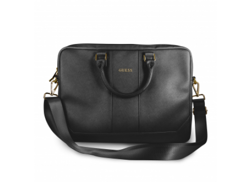 "GUESS Computer Bag 15"" SAFFIANO LOOK - Black"