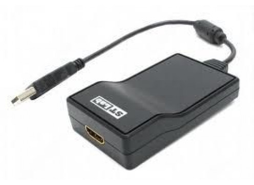 STLAB USB 2.0 to HDMI Adapter