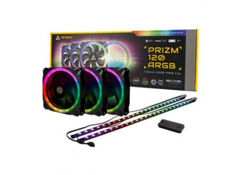 Antec Prizm 120 ARGB 3+2+C 3 in 1 Pack With Fan Controller